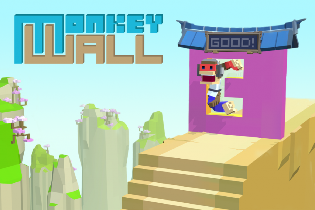 Monkey Wall Kung Fu Action Puzzle Game For The Nintendo Switch Goes On Sale On January 24 Cosen Co Ltd